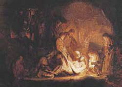 Postcard: The Entombment of Christ