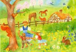 Postcard: Spring