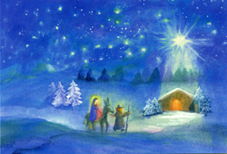 Print: Bethlehem