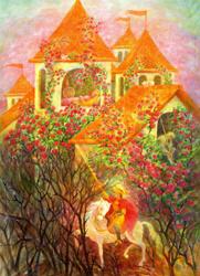 Print: Briar Rose – Sleeping Beauty