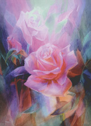 Postcard: Rose