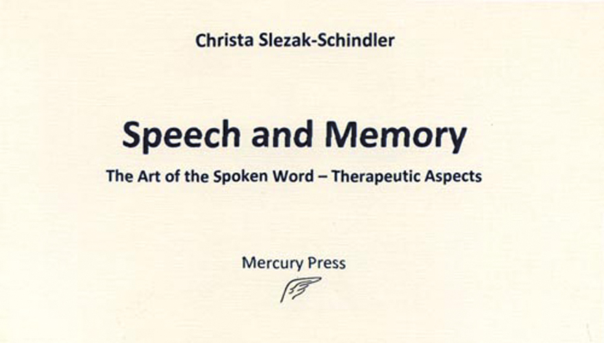 Speech and Memory