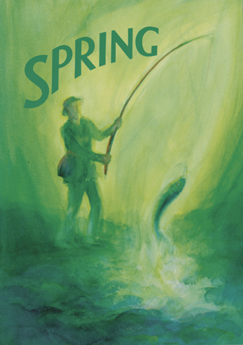 Spring. A Collection of Poems, Songs and Stories for Young Children