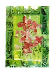 Folded card: Springtime