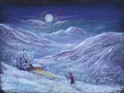 A Winter's Journey Christmas Card