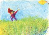 Postcard: Air Elementals