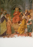 Postcard: The twelve year-old Jesus in the Temple