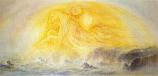 Postcard: Saint Michael over Land and Sea