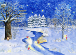 Sleeping Nature at Christmas: Medium Advent Calendar