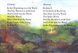 Folded card: Meditation: Evening – Morning