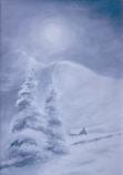 Winter Snow Christmas Card