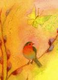 Postcard: First Spring greeting