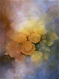 Postcard: Light through Roses