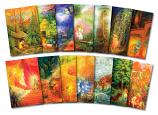 14 Fairy Tale postcards by Gabriella de Carvalho
