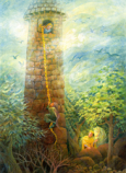 Print: Rapunzel