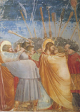 Postcard: The Kiss of Judas
