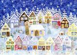 Christmas in the Elves' Village: Small Advent Calendar