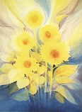 Postcard: Sun-Flowers II