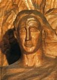 Postcard: The Representative of Man – detail of head