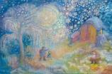 Shepherds on their way: Small Advent Calendar