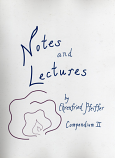 Notes and Lectures : Compendium II
