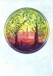 Folded card: Angelus