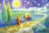 Postcard: Flight to Egypt