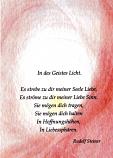 Postcard: In des Geistes Licht