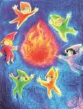 Postcard: Fire Elementals
