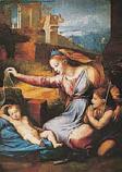 Postcard: Madonna with Diadem