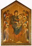 Print: The Mother of God Enthroned