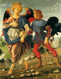Print: Tobias and the Angel