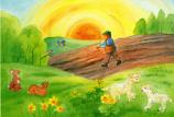 Postcard: Easter / Spring