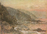 Postcard: North Cornwall Cliffs near Zennor