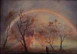 Rainbow - Bridge: Folded card