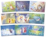 Dwarfs and Children's motifs: Set of 9 prints
