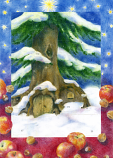 Christmas by the Tree: Small Advent Calendar