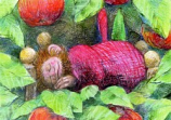 Postcard: Sleeping Dwarf