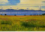 Postcard: Lake Geneva from Saint-Prex