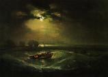 Print: Fishermen on the Shore
