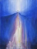 Print: Christ bringing hope into the depths - Saturday