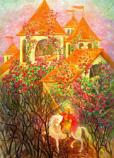 Postcard: Briar Rose – Sleeping Beauty