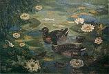 Postcard: Duck pond
