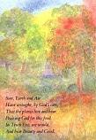 Postcard: Sun, Earth and Air