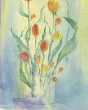 Postcard: Tulips