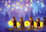 Postcard: Lantern walk