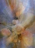 Postcard: Roses in Mist