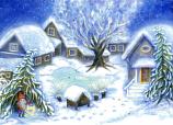 Christmas in the Yard: Medium Advent Calendar