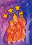 Postcard: Star singers