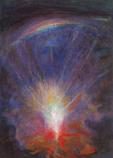 Postcard: Christ's journey into the underworld